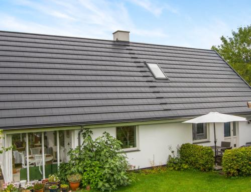 Villaen i Frederiksund fik lagt et nyt Quadrotag