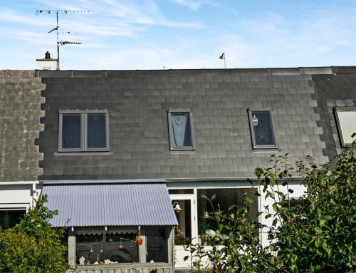 Rækkehuset i Hvidovre fik nyt skifereterenittag