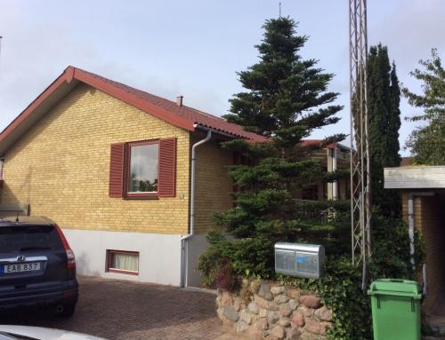 Villaen i Svendborg fik renoveret det eksisterende tag.