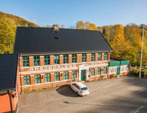 Det gamle hotel i Vejle, fik lagt nyt Decratag.