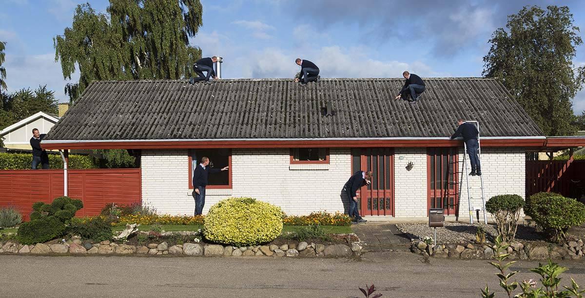 Tag- og vinduestjek » Jydsk Tagteknik