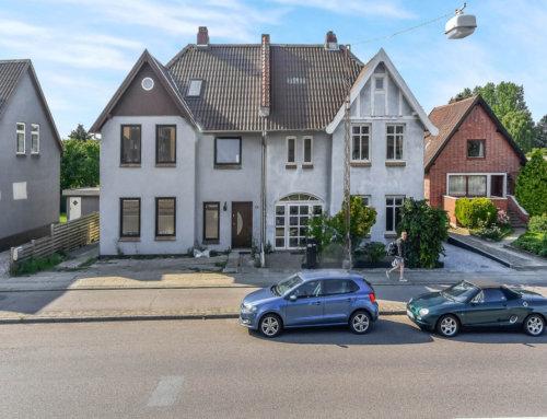 Nyt B7 eternit tag på hus i Sønderborg