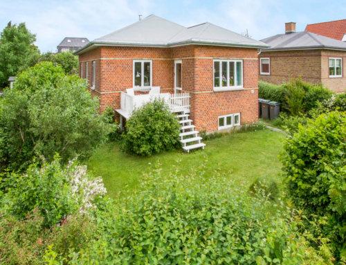 Nyt tagpap på villa i Brønshøj