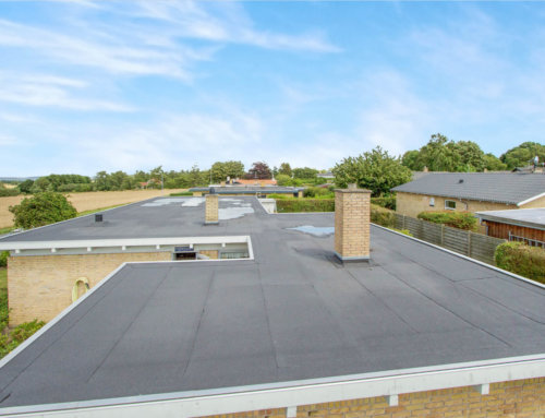 Skøn villa i Svendborg har fået lagt nyt pap på taget