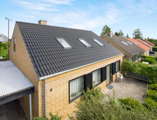 Nyt Beton tegl på hus i Hvidovre