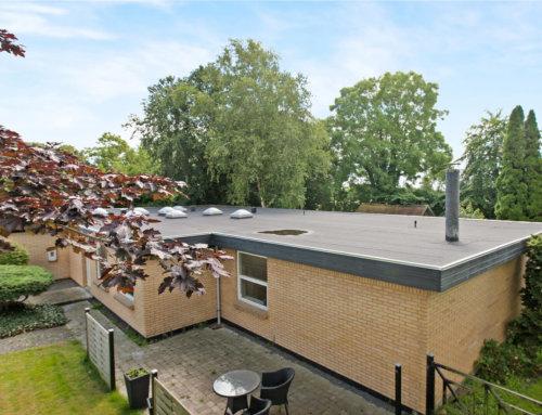 Nyt tag pap på villa i Haderslev