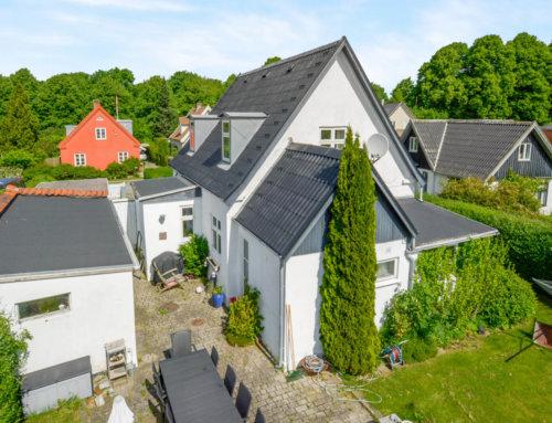 Tagrenovering af villa i Brønshøj