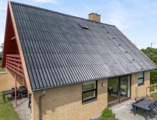 Hus i Dragør fik renoveret Eternit B6