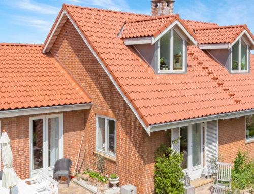 Nyt Tegltag på flot hus i Roskilde