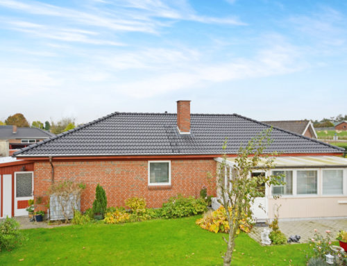 Nyt IBF dobbelt S betontegl på villa i Vejle