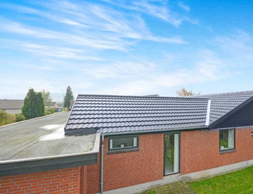 Decra på skøn villa i Vejle