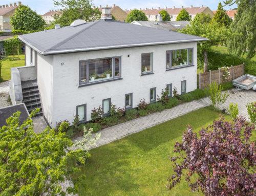 Nyt tagpap på villa i Rødovre