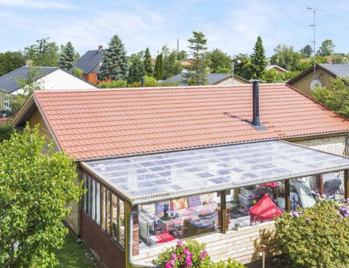 Huset i Hvidovre fik lagt nyt Decra Elegance