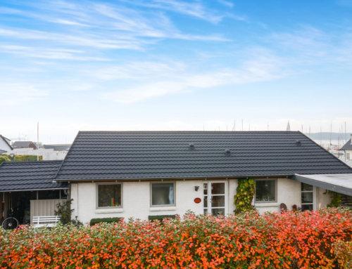 Skønt hus i Fredericia, fik monteret nyt Decra Classic