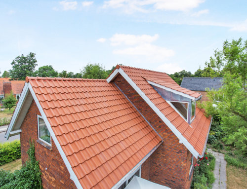 Huset i Roskilde fik lagt tegltag