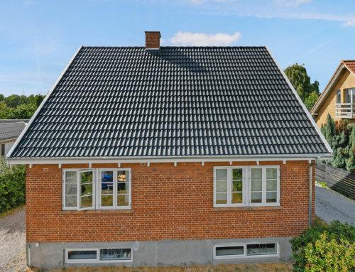 Huset i Helsingør fik lagt nyt betontegltag
